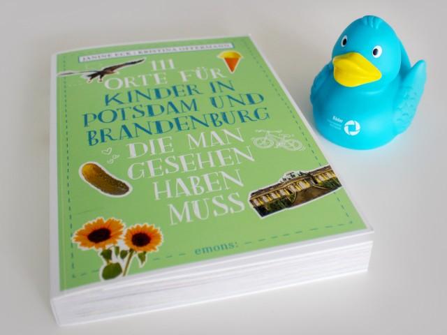 Buch: 111 Orte für Kinder in Potsdam und Brandenburg, die man gesehen haben muss