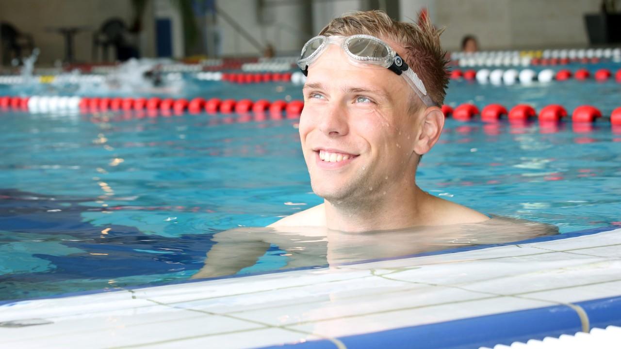 Schwimmer im Kiezbad Am Stern, © Kathleen Friedrich