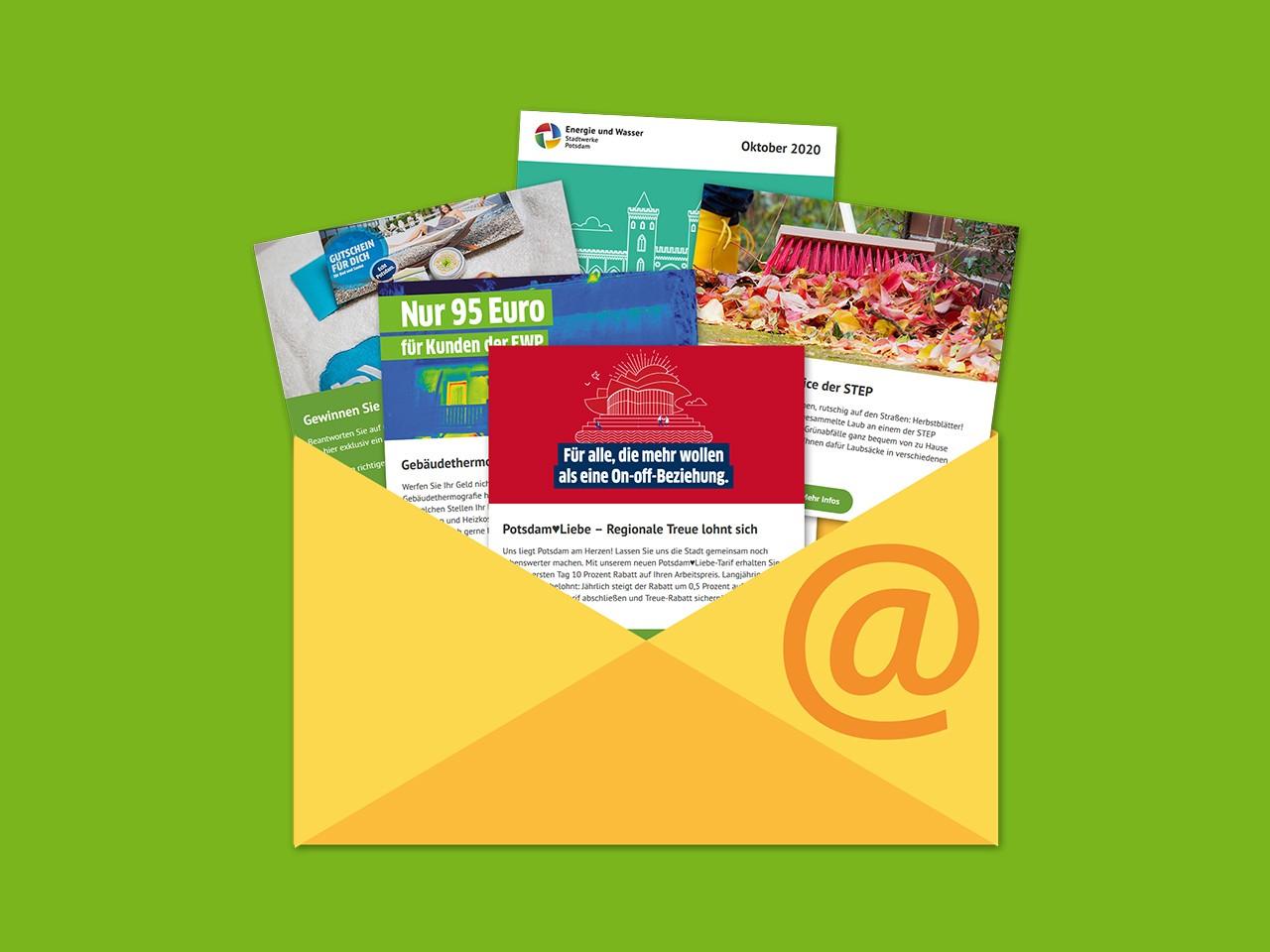 Newslettericon - Bestens informiert