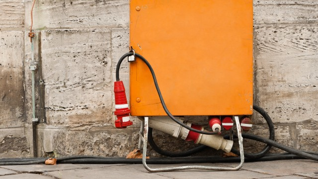 Gut versorgt mit Baustrom aus dem Verteiler der Energie und Wasser Potsdam, © fefufoto /Fotolia