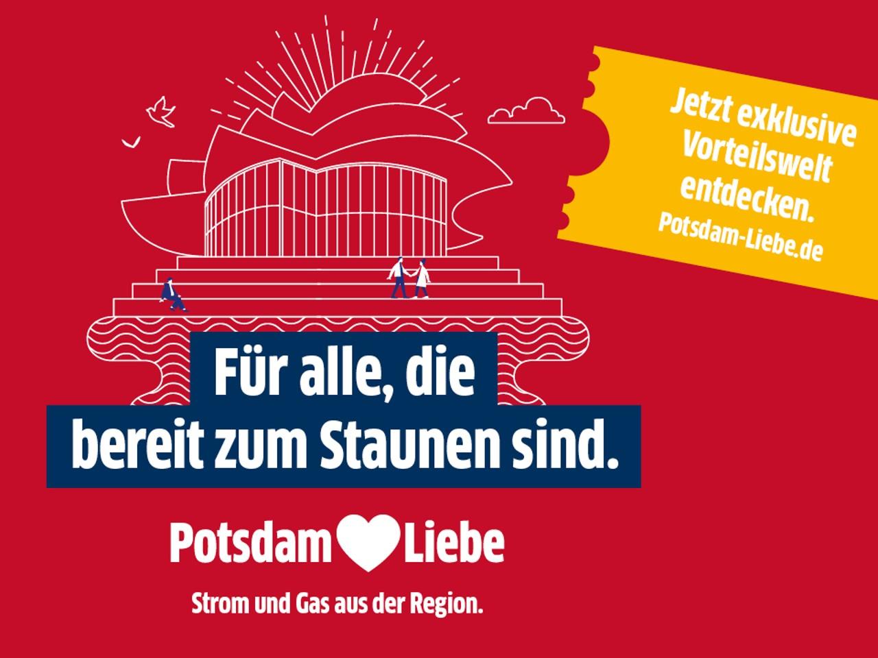 Potsdam ♥Liebe - Jetzt exklusive Vorteilswelt entdecken