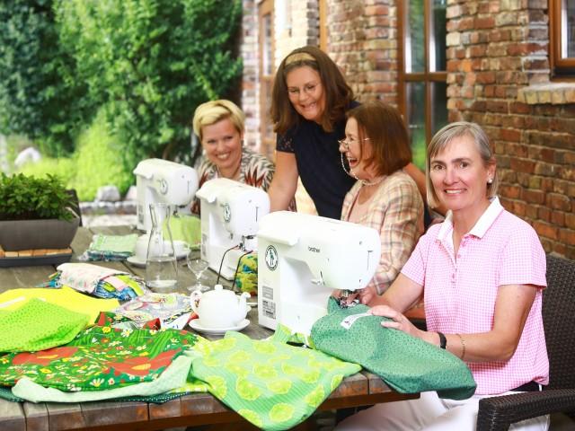 Greenbag-Ladies aus Potsdam nähen Einkaufsbeutel