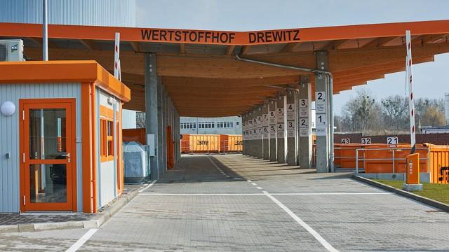 STEP Wertstoffhof Drewitz, © Paulus