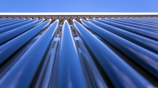 Solarthermieanlage, © AdobeStock