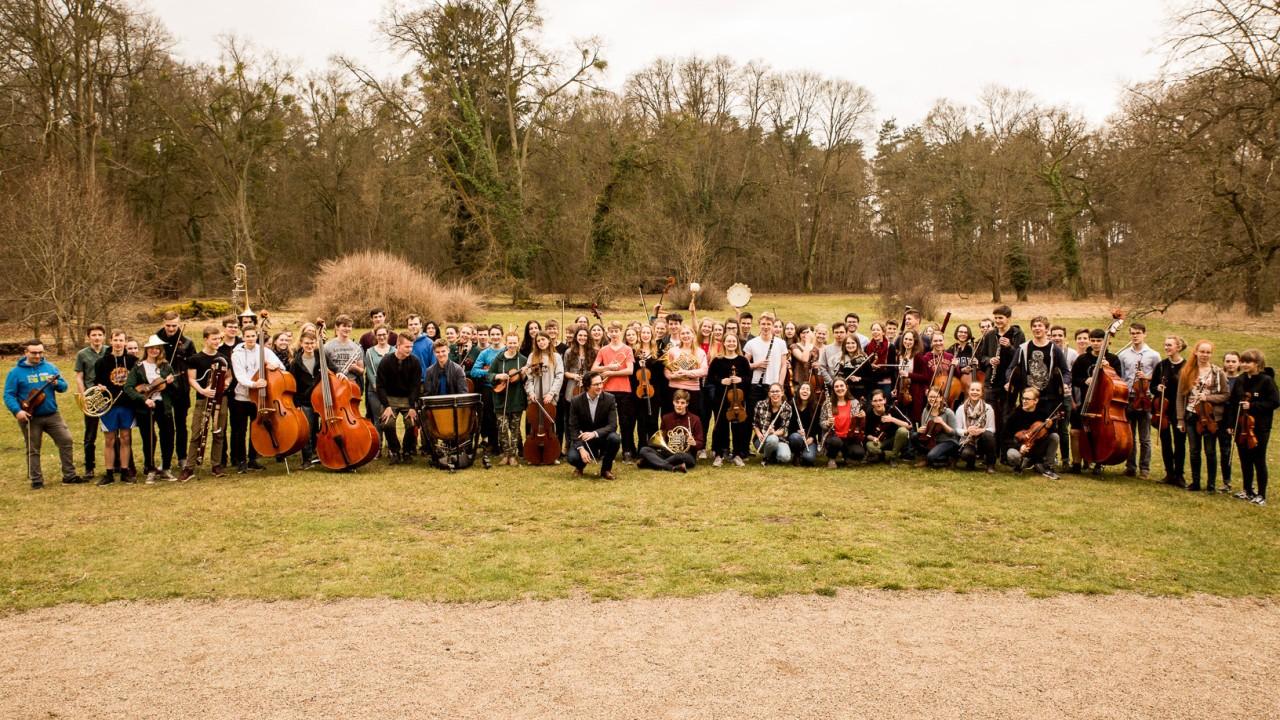 Junge Philharmonie Brandenburg in Kröchlendorf, 2018, © Uwe Hauth
