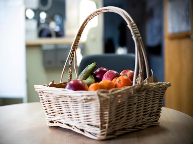 Obstkorb bei der ViP, © vip