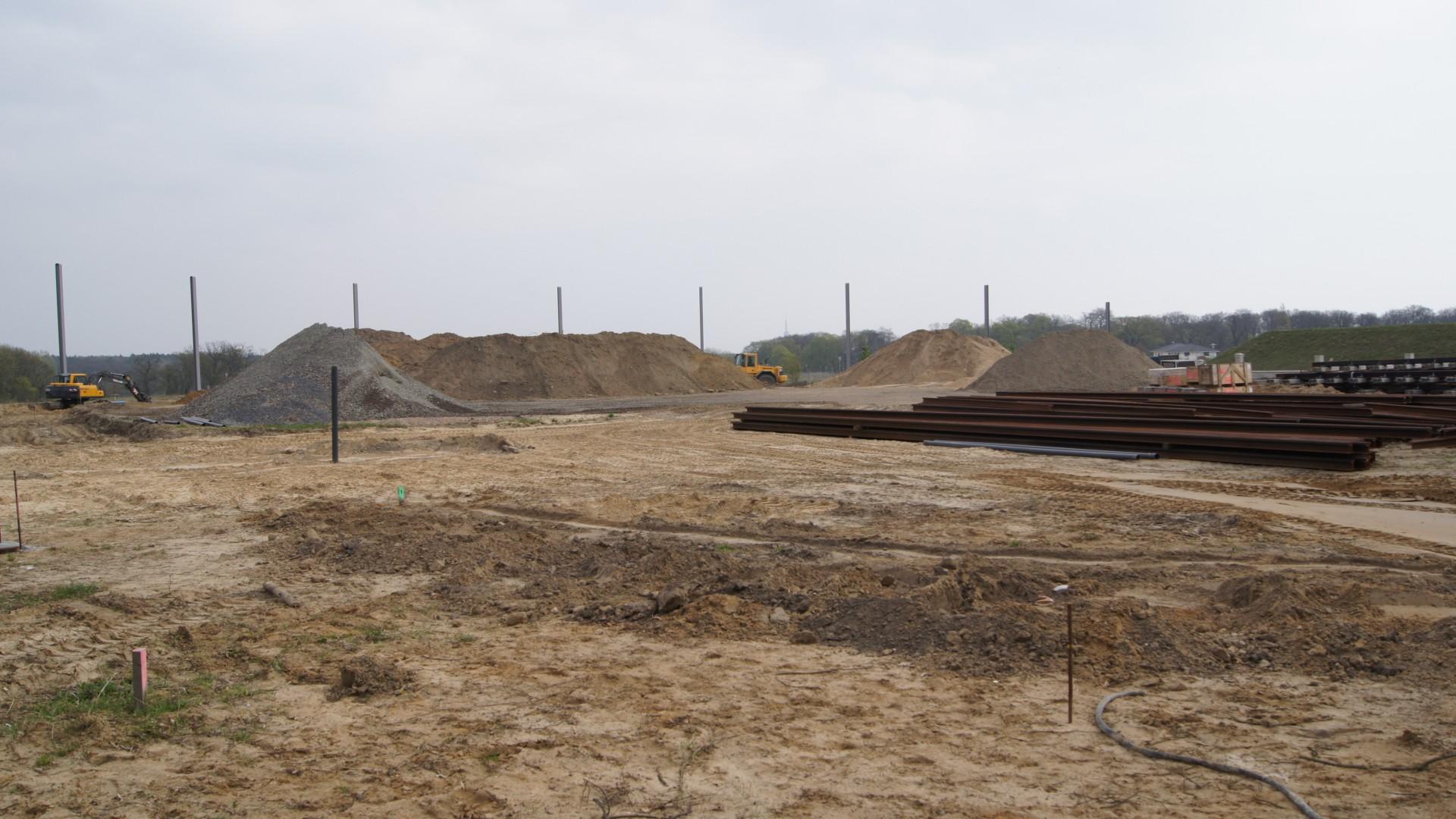 Verlängerung Strecke Campus Jungfernsee Bauarbeiten, © ViP