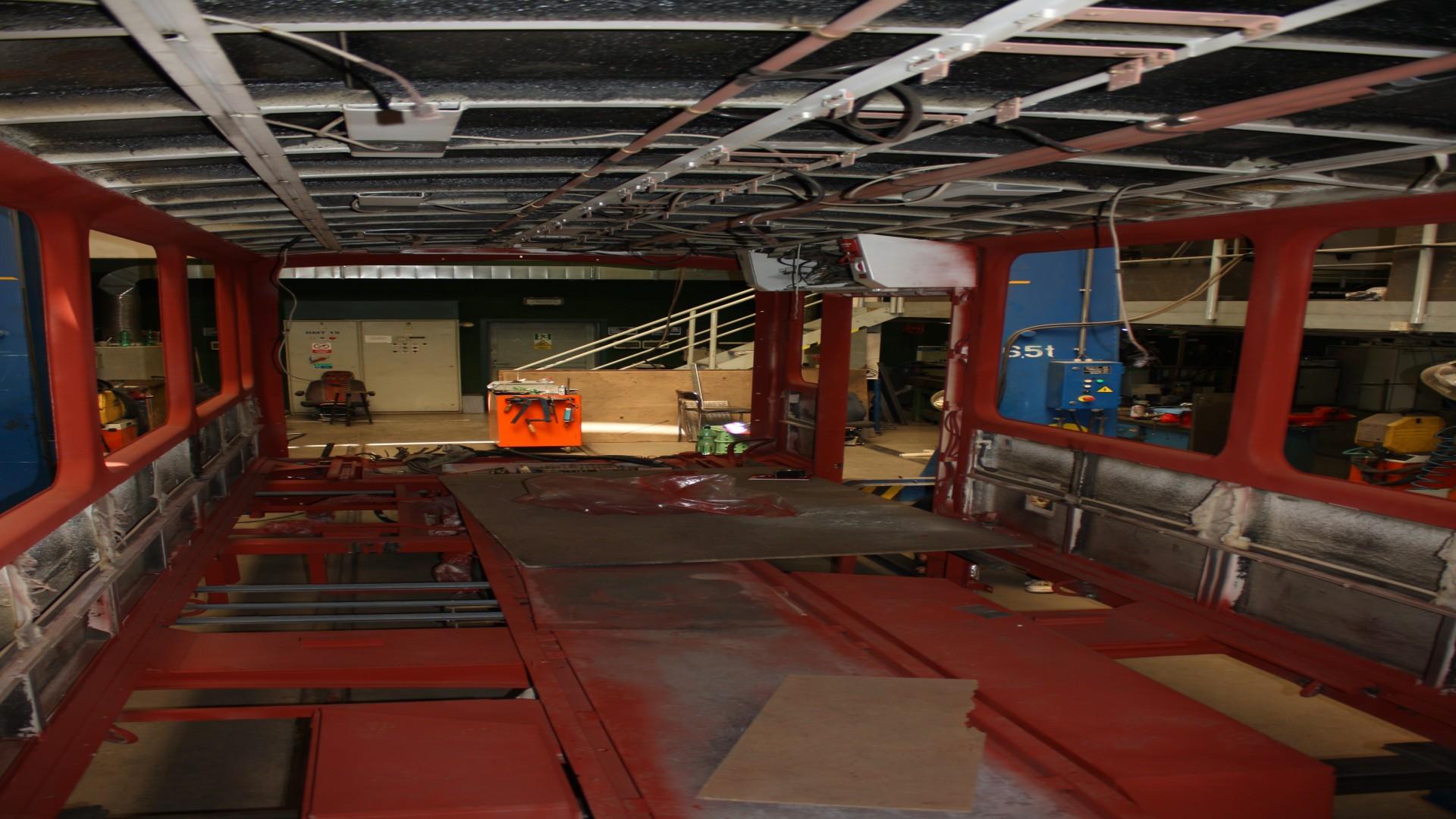 Tatrawagenteil wird in Werkstatt instandgesetzt, © ViP