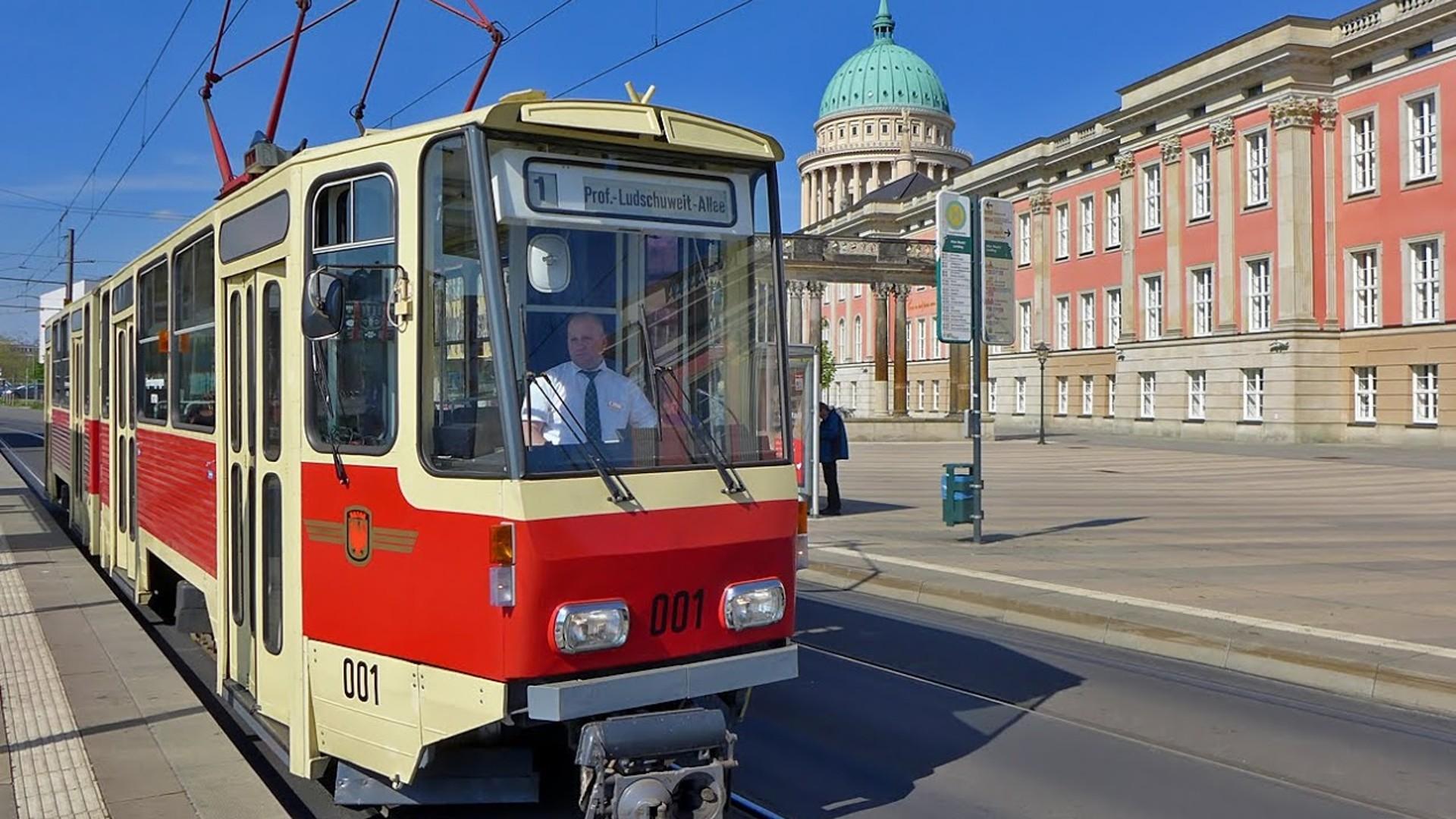 Triebwagen KT4D 001, © R. Leichsenring