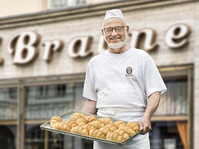 Bäckerei Braune, Werner Gniosdorz, © Kontur
