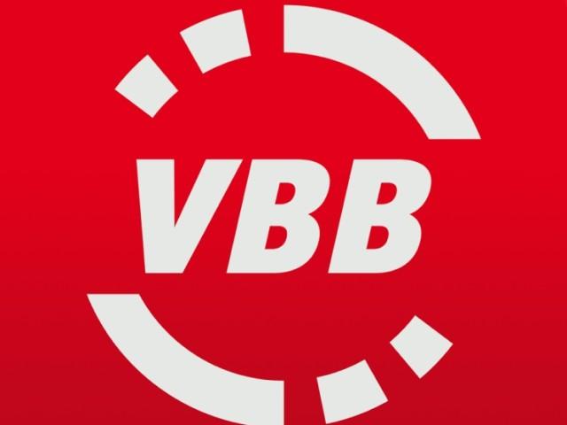 rotes Logo mit weißer Schrift VBB, © VBB
