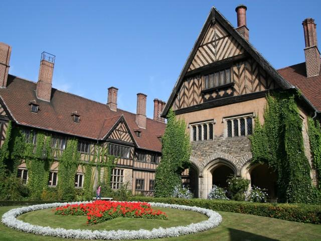 Schloss Cecilienhof mit Park, © H M F