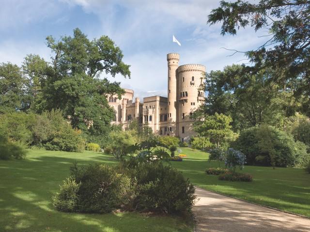 Schloss Babelsberg Vorderansicht, © SPSG