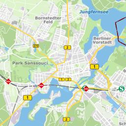 Potsdam Karte Stadtteile.Unsere Wasserwerke Vorgestellt Energie Und Wasser Potsdam
